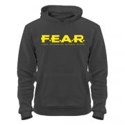 Худи с капюшеоном Fear