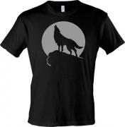 футболка с воущим волком