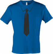 Мужская футболка галстук работника