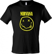 Майка для поклонника Nirvana