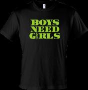 Футболка с надписью Мальчикам нужны девочки