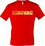 Футболка Scorpions (золото)