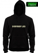 Толстовка Everybody Lies (glow)