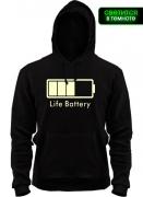 Капюшенка Life-Battery (Glow)