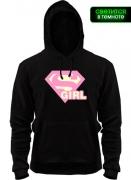 Толстовка Super Girl (glow)