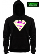 Толстовка Кислотный Супермен (glow)