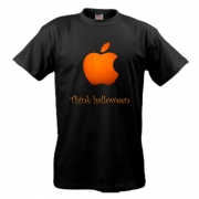 Футболка  Apple - Think helloween