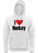 Толстовка Я люблю хоккей