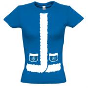 Женская футболка Снегурочка