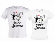Футболки для новобрачных Just married 5