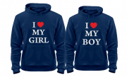 Комплект для влюбленных I love my boy (girl)