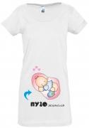 Футболка для беременных Пузожитель