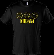 Футболка для фаната Nirvana(2)