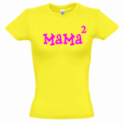 Футболка женская Мама в квадрате