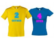 Комплект футболок для влюбленных 2gether 4ever