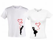 Две футболки Мальчик-и-девочка