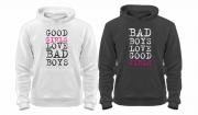 Парные балахоны Bad boys - Bad girls