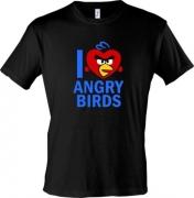 Футболки I love angry birds
