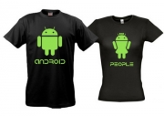 Парные майки Android people