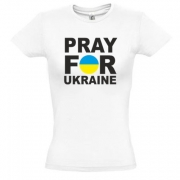 Футболка Pray for Ukraine