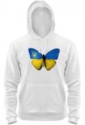 Толстовка Жовто - блакитний метелик