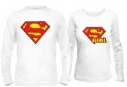 Парные кофты Superman & Supergirl