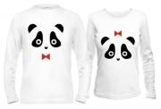 Кофты для влюбленных Панды