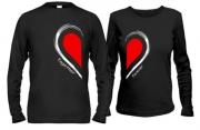 Кофты для влюбленных Вместе навсегда (сердце)