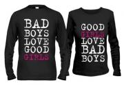 Парные кофты Bad boysgirls