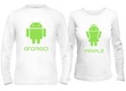 Кофты для влюбленных Android People