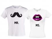 Комплект футболок МR & MS