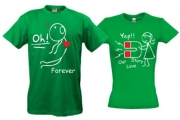 Парные футболки Магнит для сердца