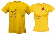 Комплект футболок Воздушный змей и собачка