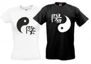 Футболки Инь-Янь (черная и белая)