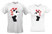 Футболки с Влюбленными пандами