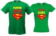 Парные футболки Super-boy&Super-girl-2