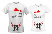 Парные футболки My-girlfriend-2
