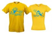 Комплект футболок I-recive-your-love