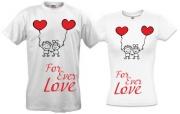 Пара футболок For-ever-love