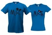 Парные футболки Mickey style