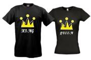 Футболки для двоих King & Queen