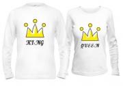 Парные кофты King & Queen