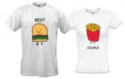 Комплект футболок Best couple