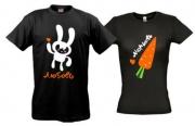 Парные майки Любовь Морковь