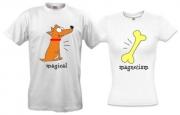 Парные футболки Magical magnetism