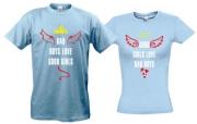 Парные футболки Bad girls/Bad boys