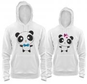 Балахоны Панда любовь