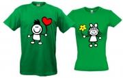 Комплект футболок Улыбка
